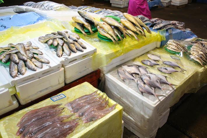 Noryangjin Fisheries Fish