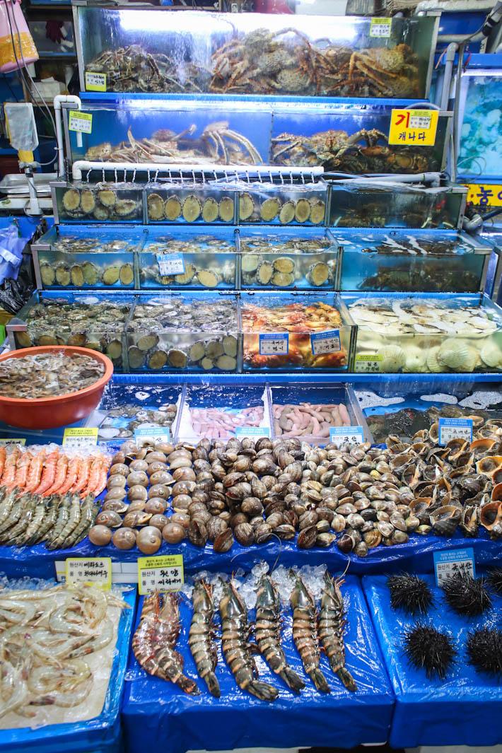 Noryangjin Fisheries Live Seafood