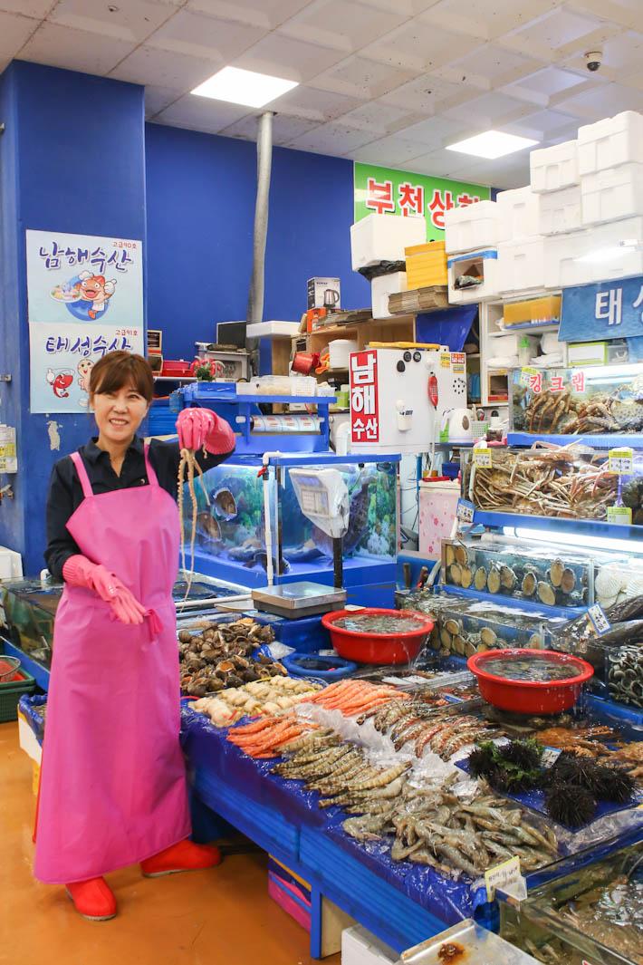 Noryangjin Fisheries Seoul