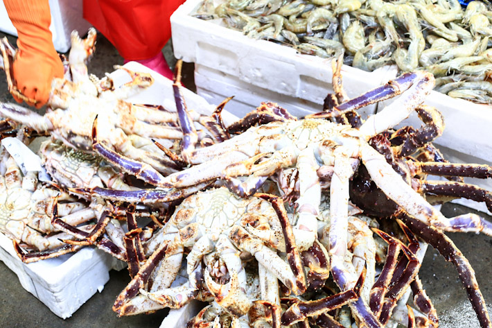 Noryangjin Market King Crab