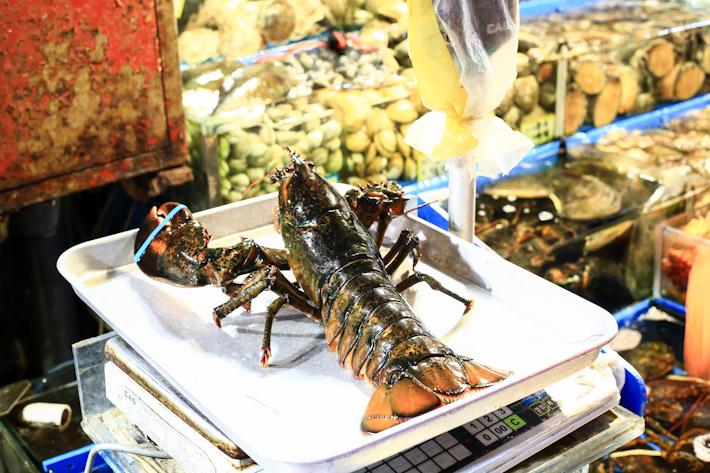 Noryangjin Market Lobster