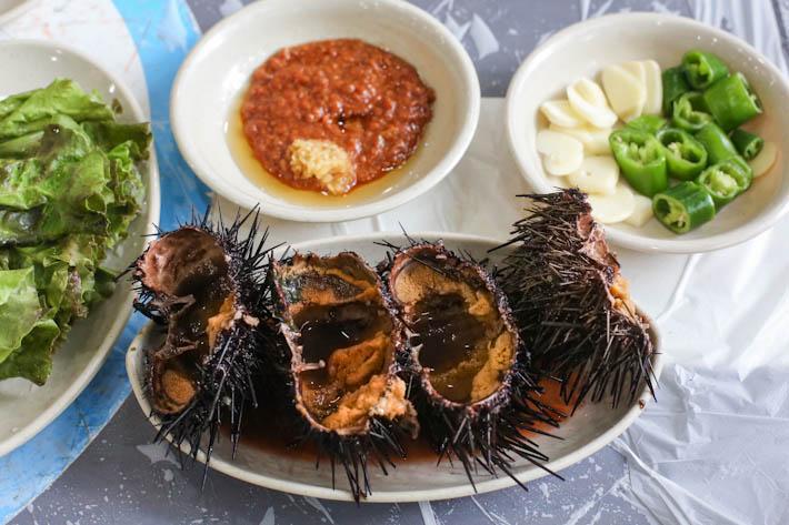Noryangjin Sea Urchins