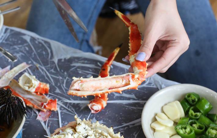 Noryangjin Seafood Legs