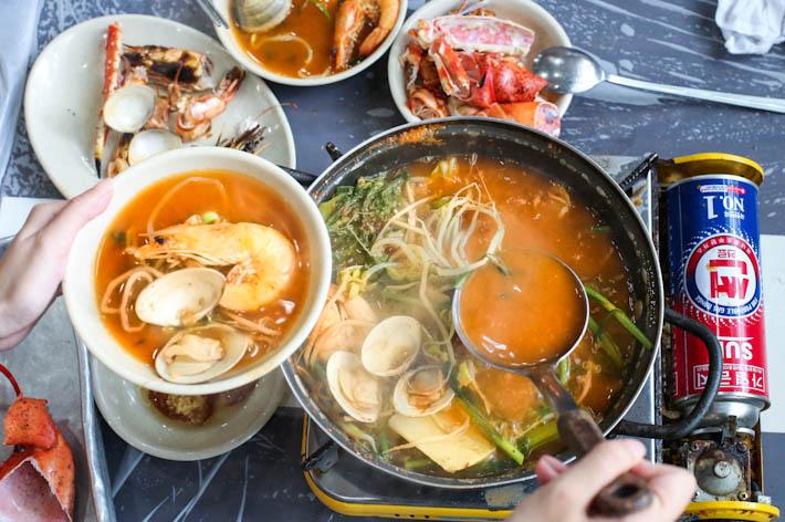 Noryangjin Seafood Soup
