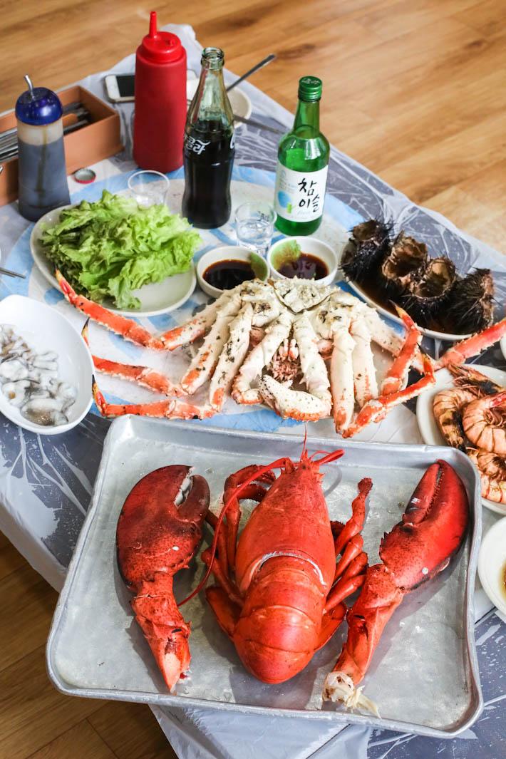 Noryangjin Steamed Seafood