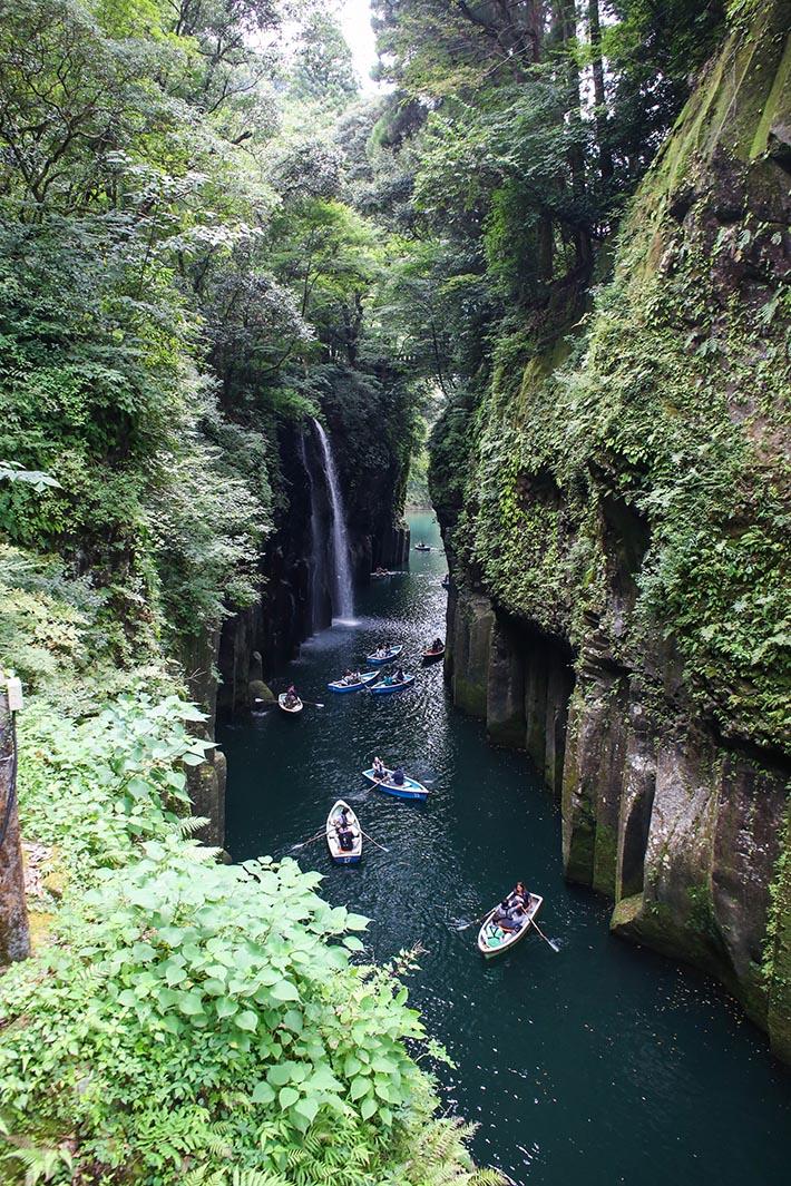 Takachiho Gorge Waterfall