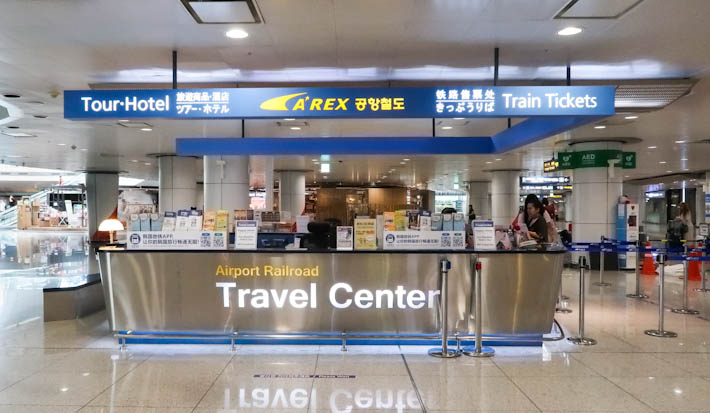 Travel Center Information Counter