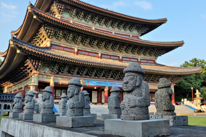 Yakcheonsa Temple Jeju