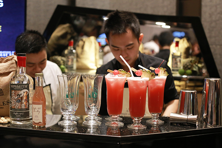 Accor Food & Wine Festival Singapore Sling