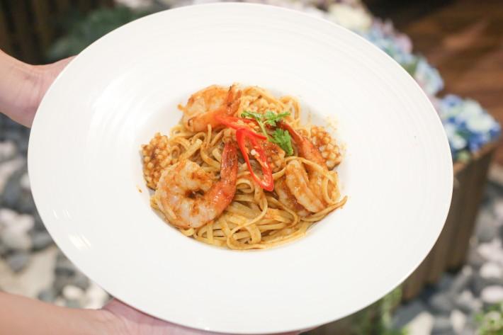 Coalesce - Spicy Balacan Seafood Linguine Pasta