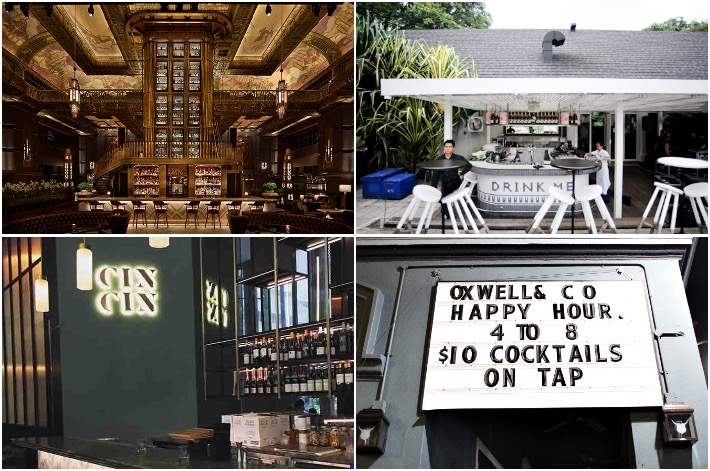 Gin Bars In Singapore