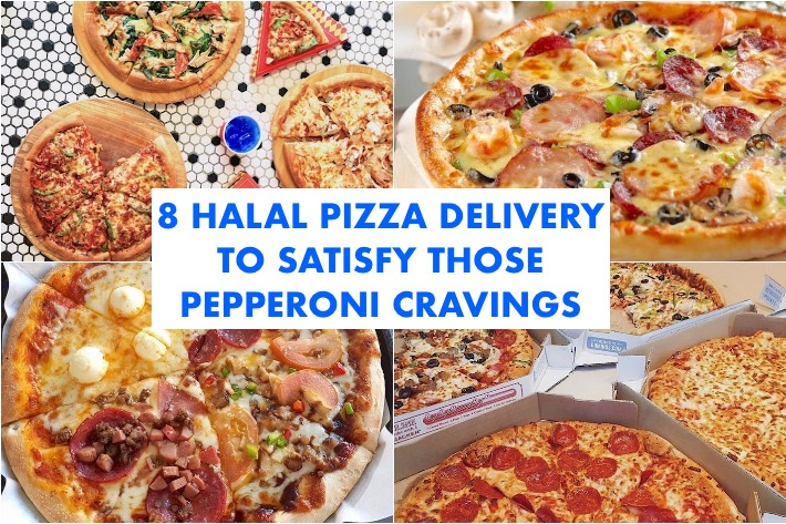 Halal Pizza Delivery Cover