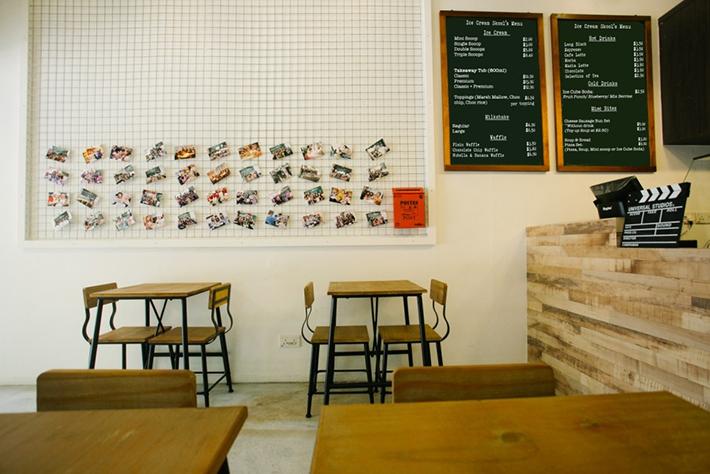 Ice Cream Skool Interior
