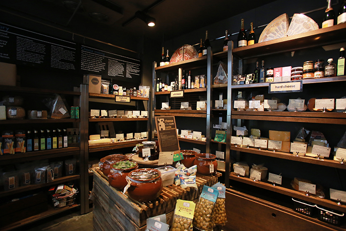 Jones The Grocer Cheese Room