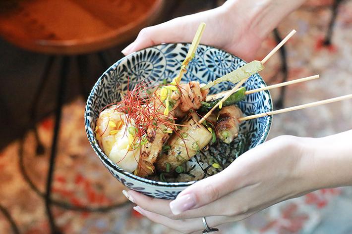 Kimoto Gastro Bar Kushiyaki Don
