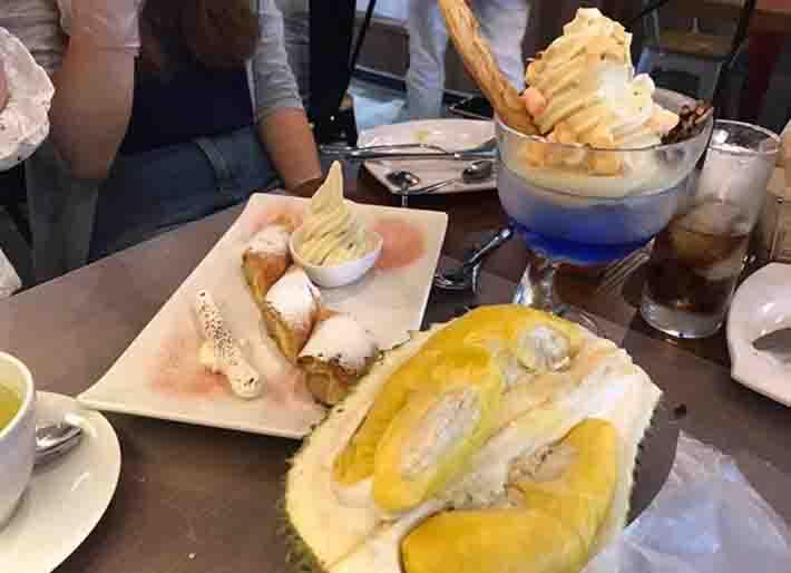 Mao Shan Wang Cafe Desserts