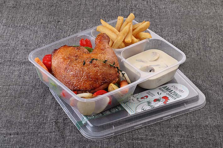 Poulet Delivery Quarter Roast Chicken
