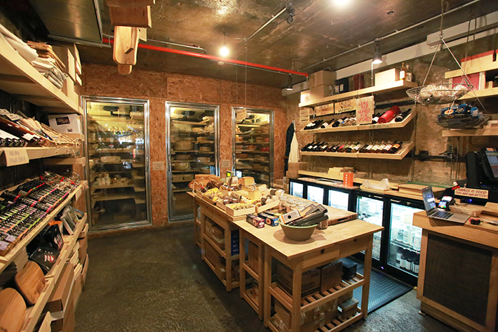 The Cheese Ark Interior