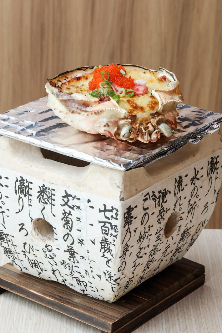 Tsukiji Fish Market Restaurant Queen Crab Miso Rice