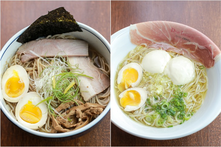 Tsukiji Fish Market Restaurant Ramen Collage