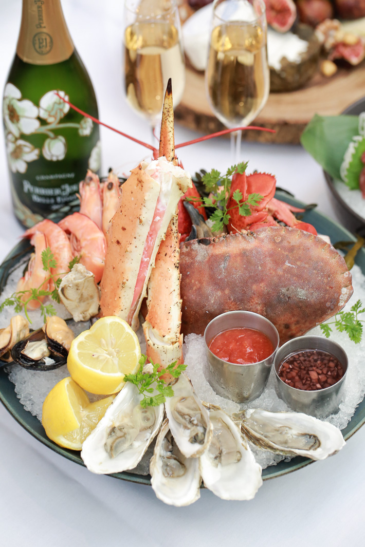 mezza9 Seafood Selection