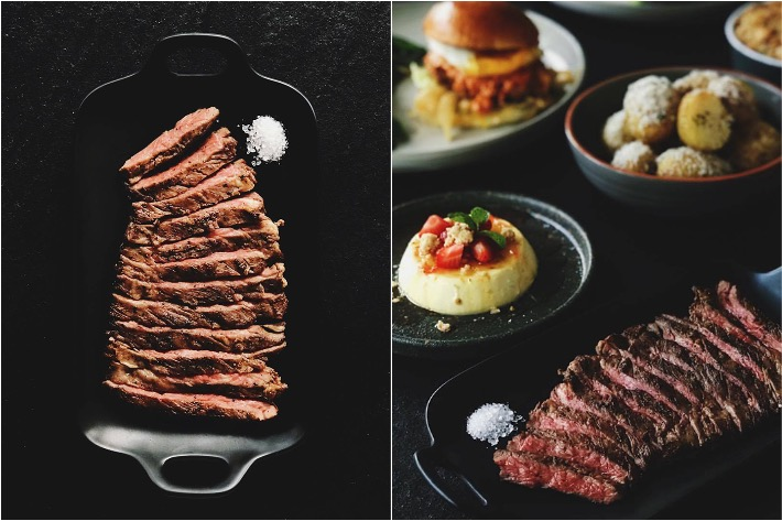 Butler's Steakbar Collage