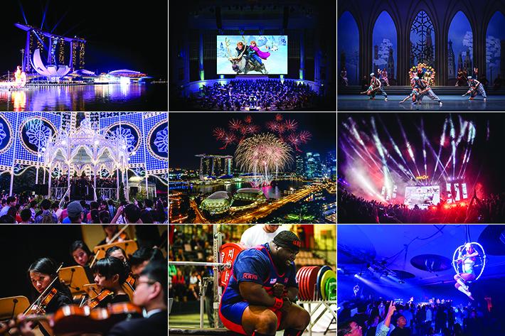 December Events Singapore 2017