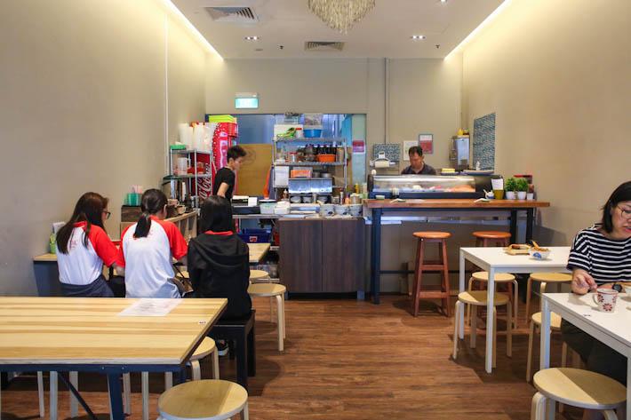 District Sushi Interior