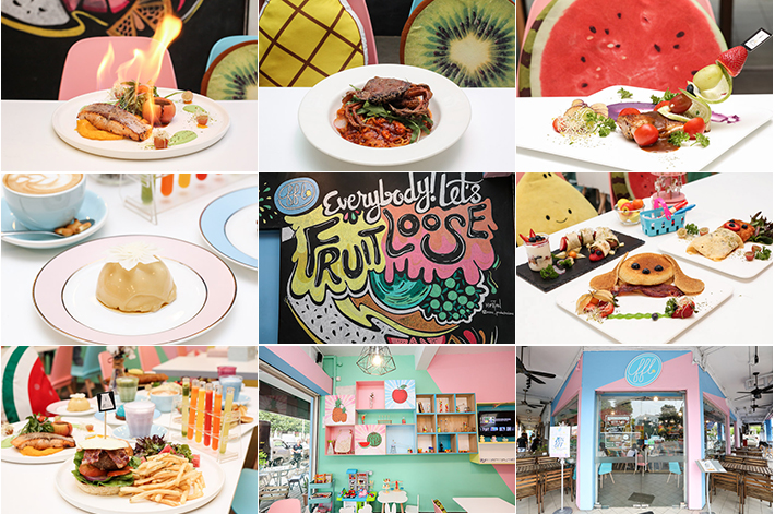 Fresh Fruits Lab Pastel Cafe