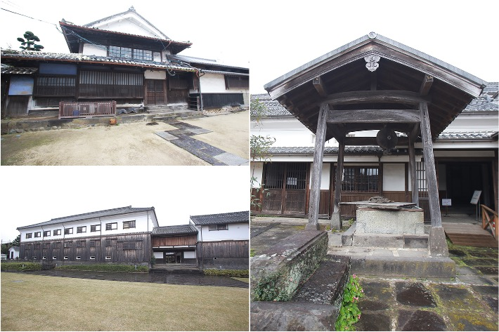 Hoashi Sake Brewery Collage