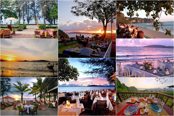 Krabi Restaurants Collage