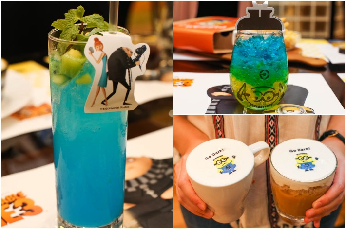 Minion Cafe Drinks
