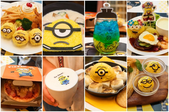Minions Cafe Food