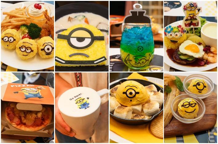 Minions Cafe Food