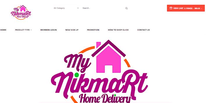 My Nikmart Website