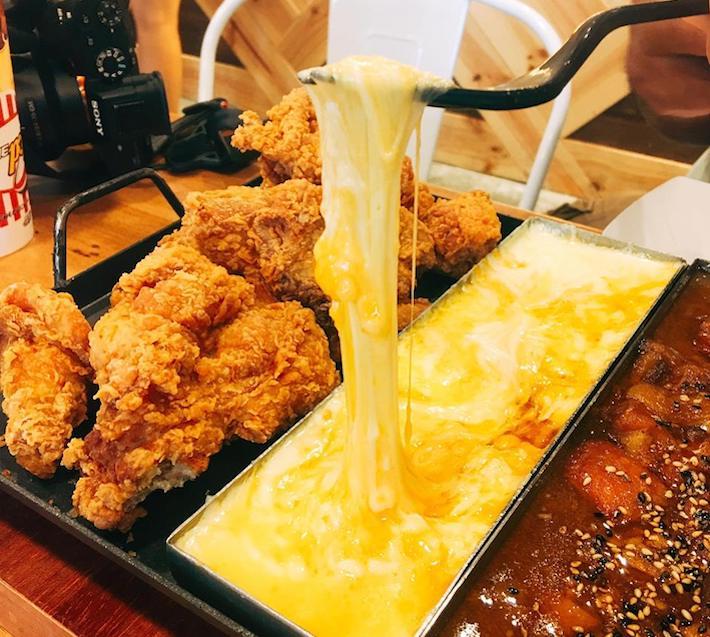 NeNe Chicken Hotplate Chicken