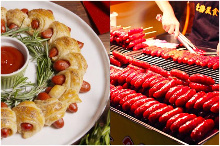 Pigs in Blanket vs Taiwan Sausage