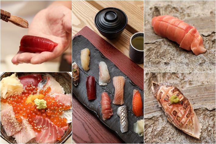 Sushi Jiro Collage