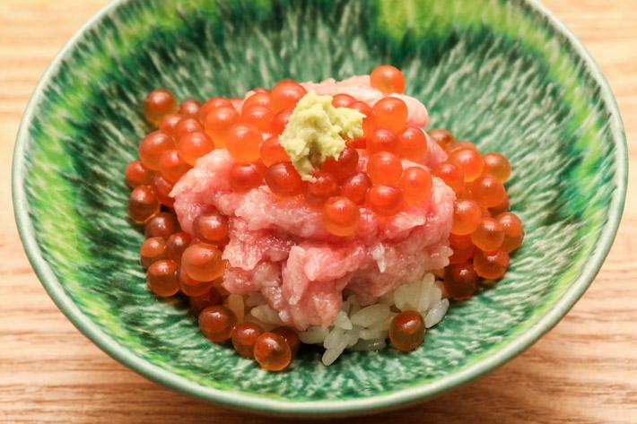 Sushi Jiro Negitoro & Ikura Rice