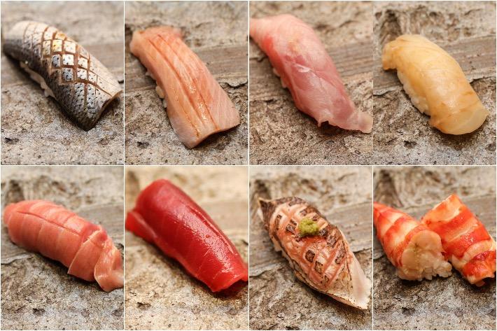 Sushi Jiro Sushi Collage
