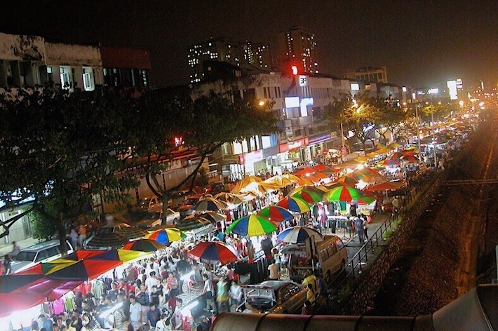 Taman Connaught Night Market