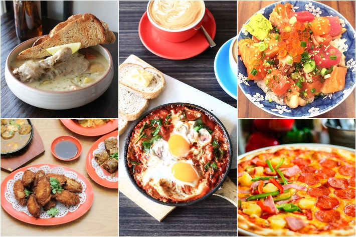 Upper Thomson Food Collage