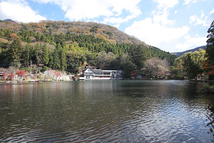 Yufuin Lake Kinrin