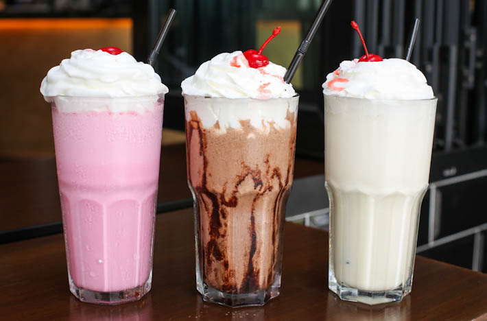 25 Degrees Milkshakes