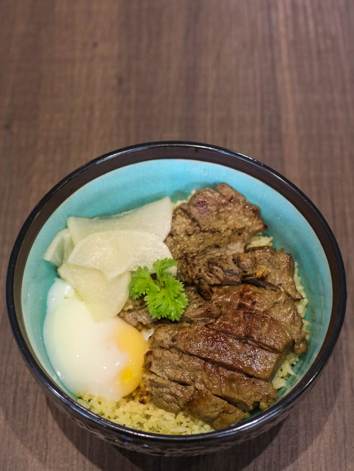 Bok's Kitchen Beef Rice Bowl