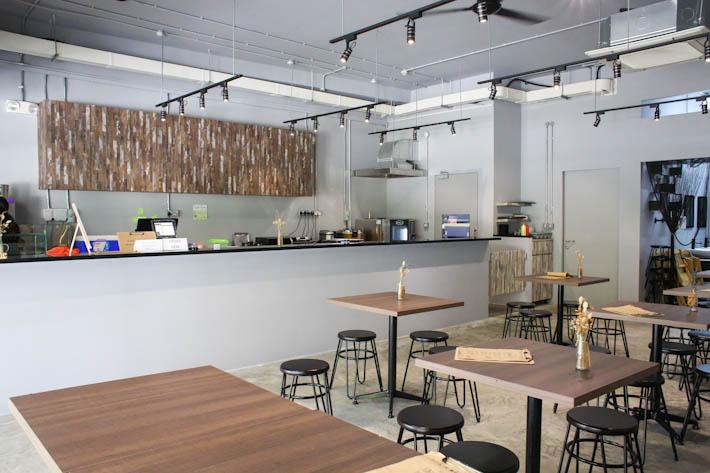 Bok's Kitchen Interior