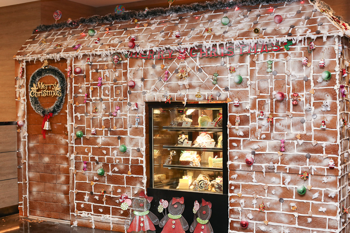Ginger PARKROYAL Gingerbread House