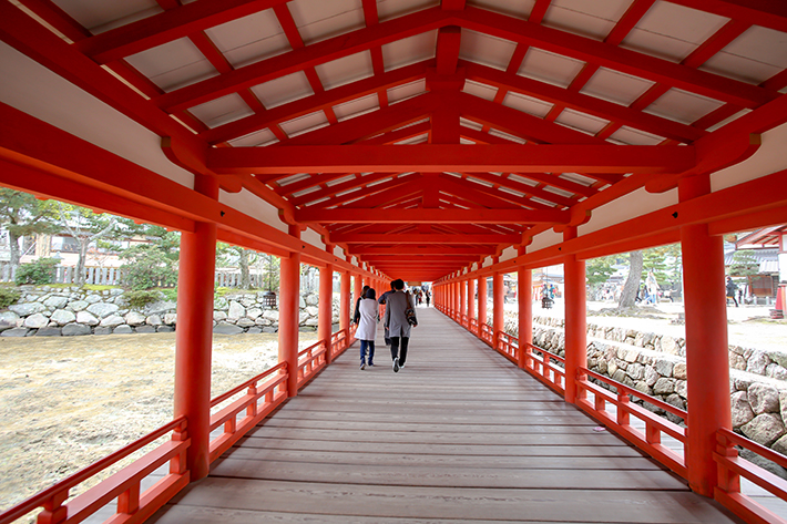 Itsukushima Shrine Interior