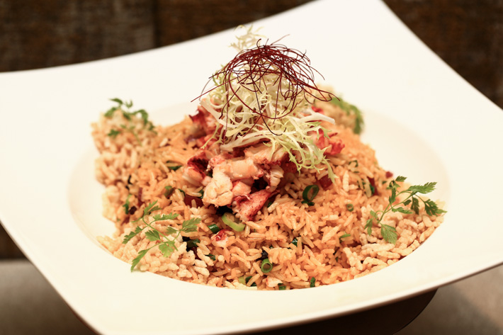 Mitzo Lobster Fried Rice