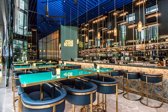 Oasia Hotel Downtown, Singapore - CIN CIN Bar